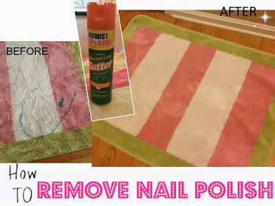 Two It Yourself: How to Remove Nail Polish from Clothes (and Carpet)