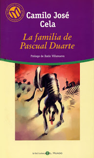Libro la familia de Pascual Duarte - Camilo José Cela