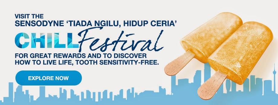 Sensodyne Tiada Ngilu Hidup Ceria Chill Festival