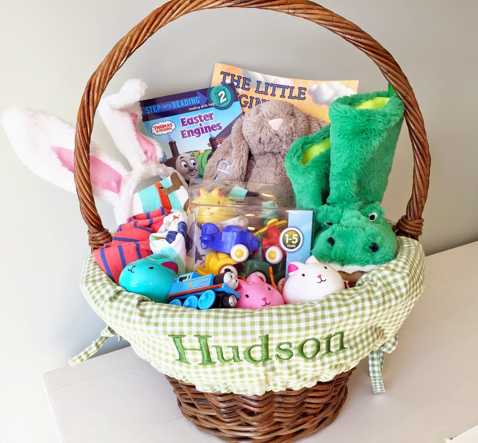 Hudsons easter basket the girl in the red shoes hudsons easter basket negle Image collections