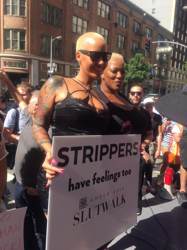Lesbian girls in public