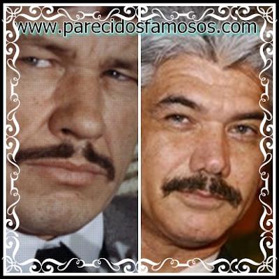 Jackson Antunes y Charles Bronson
