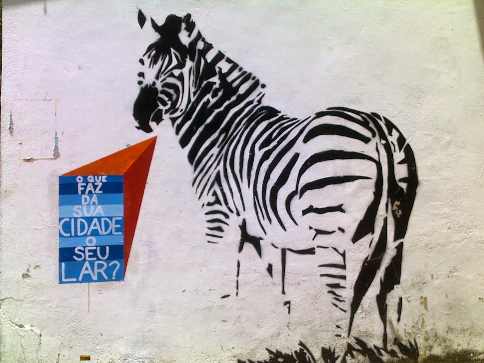 A zebra quer saber: