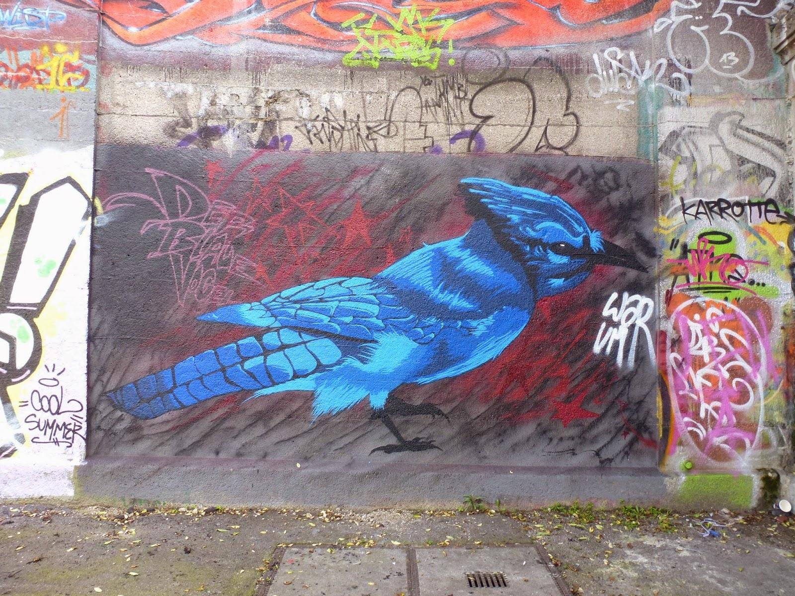 Graffiti, München, Tumblingerstraße, Streetart
