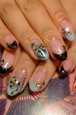Glam-Chic-Fall-2012-Nail-Art-Designs-6