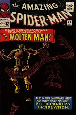 Amazing Spider-Man #28, the Molten Man