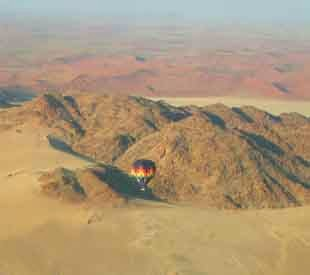 Balloon Over Sossusvlei