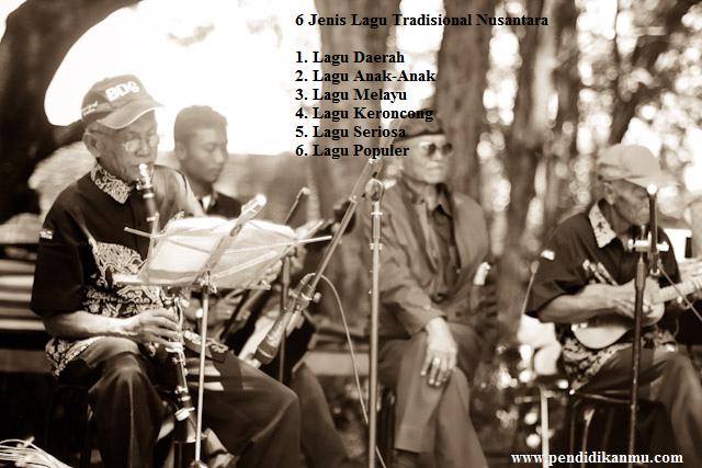 6 Jenis Lagu Nusantara di Indonesia