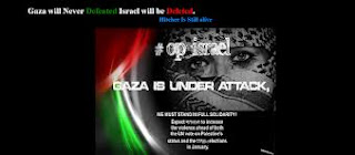 cyber war for gaza