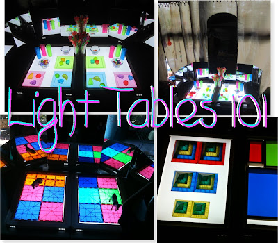 all about what light tables are for and what to do with them