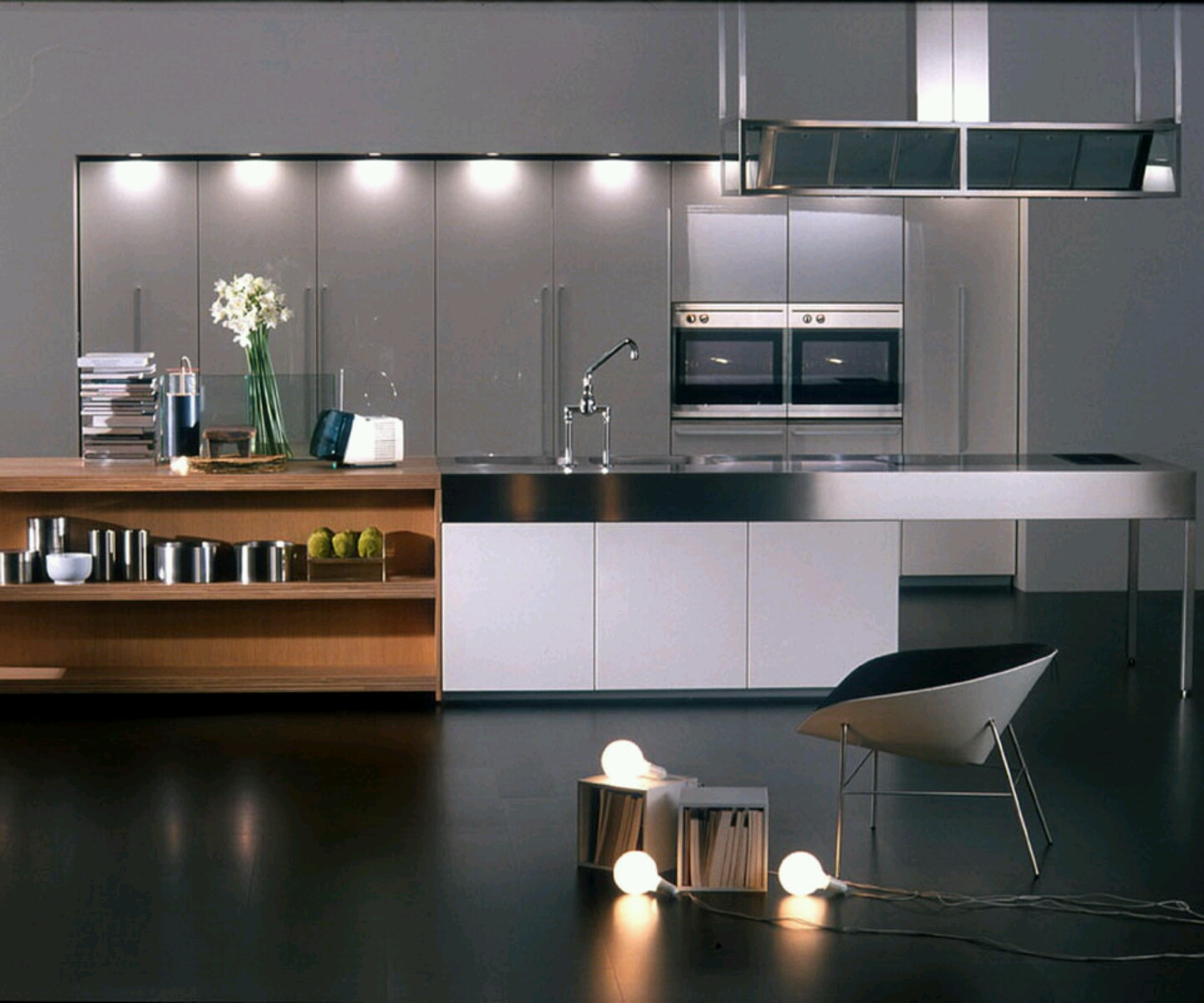 New home designs latest modern kitchen designs ideas for Modern kitchen design aluminium