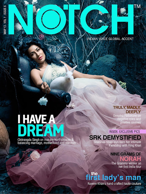 Chitrangda Singh Notch magazine 2013