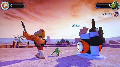 Disney Infinity Review Guard Aladdin Mike Wazowski Monsters