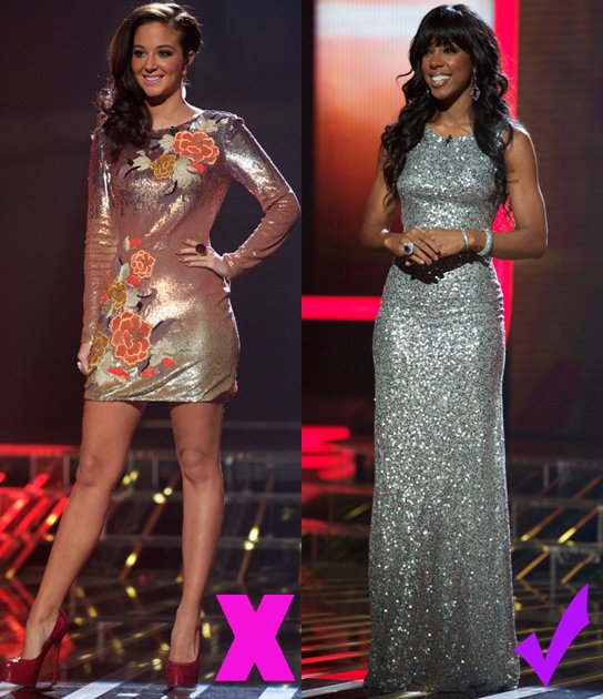 2011 X Factor Fashion