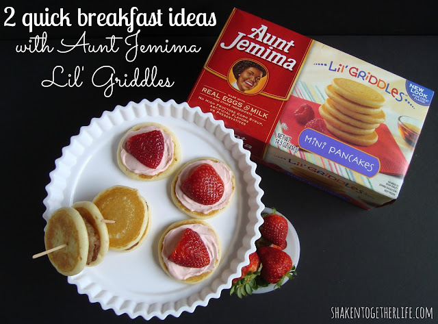 2 quick & kid approved breakfast ideas at shakentogetherlife.com