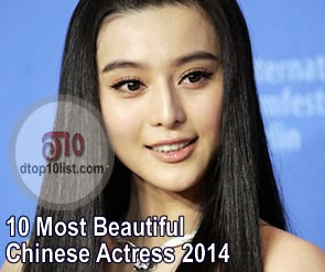 Top 10 Most Beautiful Chinese Actress 2014