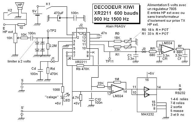Alerte radiosondes decodeur kiwi avec un xr2211 suite - Deco oudersuite ...