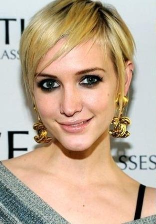 este tipo de look de cabello muy cortoson prcticos y mujeres con rostro fino y para cualquier edad