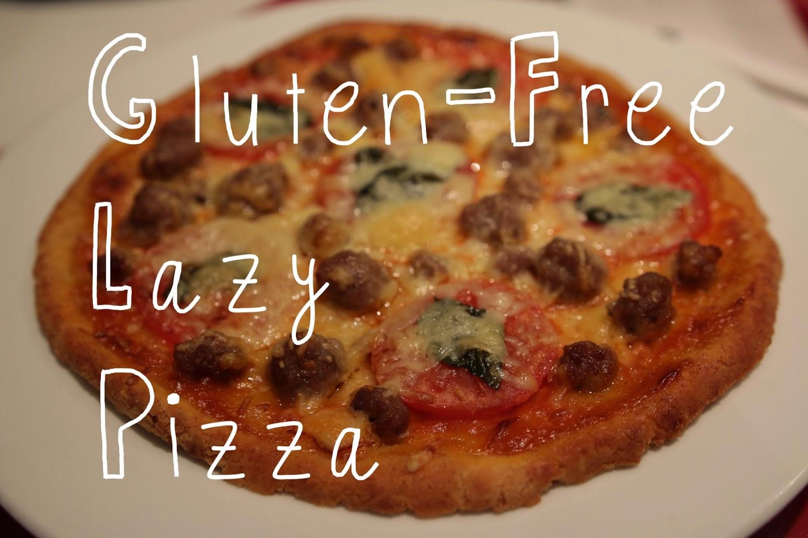 Gluten-free sausage pizza