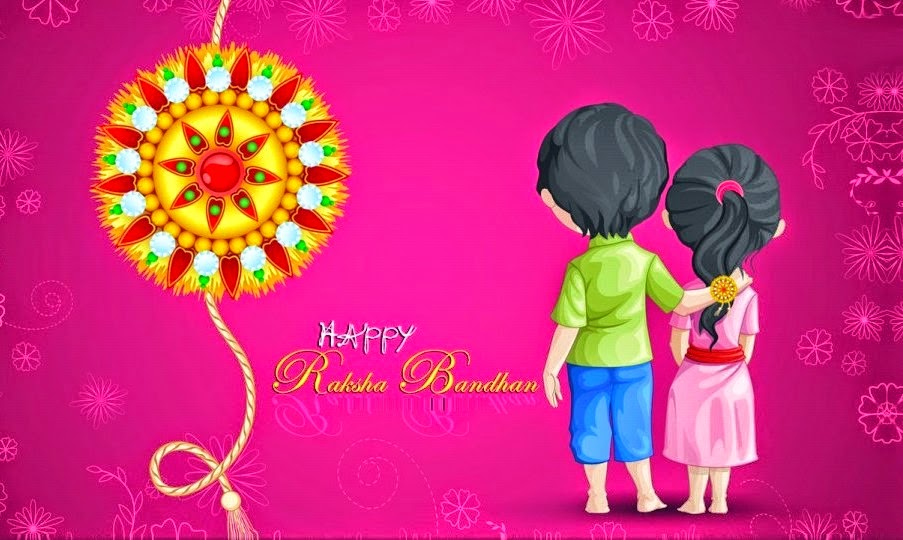 Happy Raksha Bandhan 2014 SMS Quotes Messages