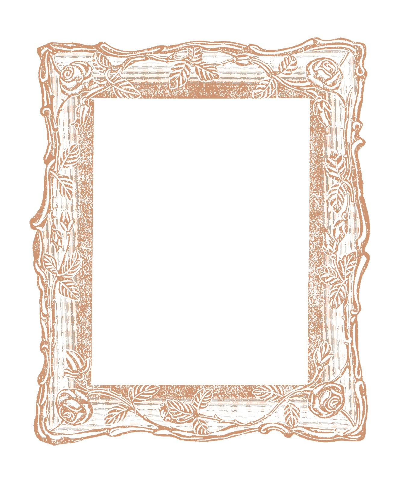 Antique images vintage graphic decorative square frame for How to make vintage frames