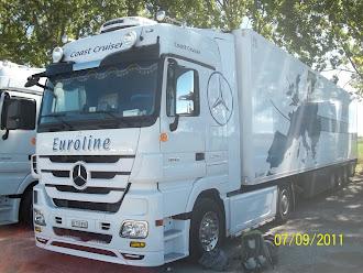 Meine früheren Lastwagen: