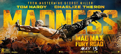 Mad Max Fury Road Banner Poster 1