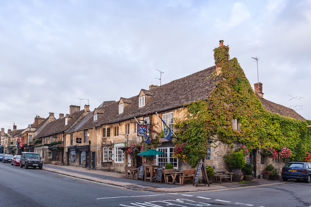 The high street of the Cotswold town of Burford by Martyn Ferry Photography