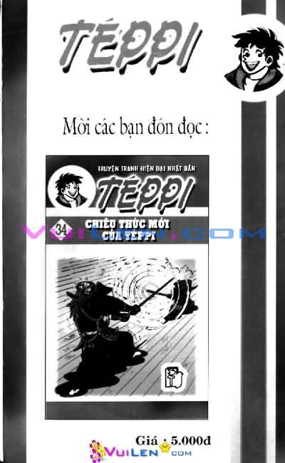 Siêu quậy Teppi chap 33 - Trang 162
