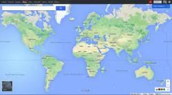 nuovo Google Maps a tutto schermo