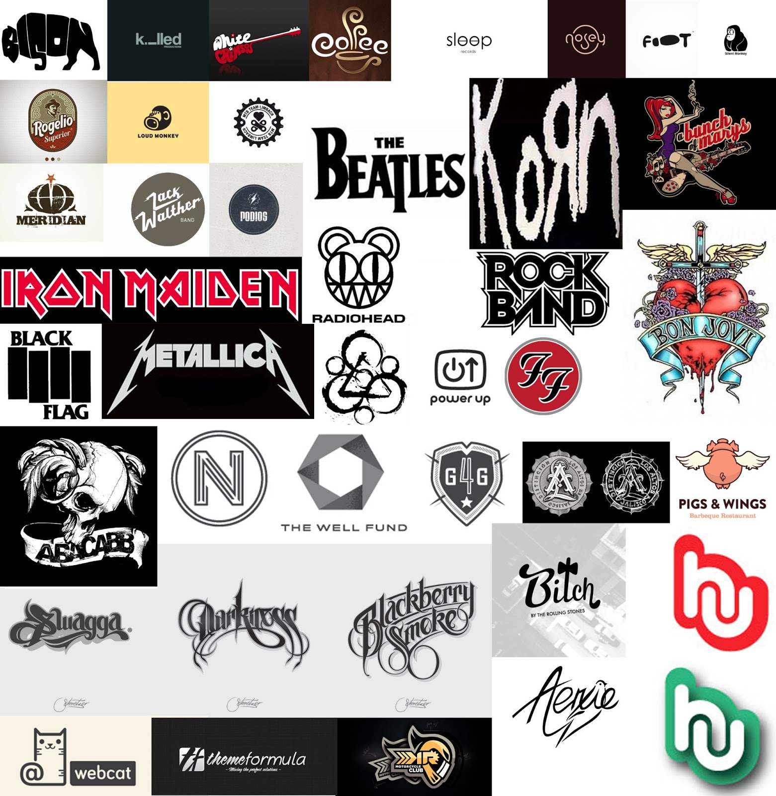 Logo Design Research - Mood Boards & Inspirational Designs