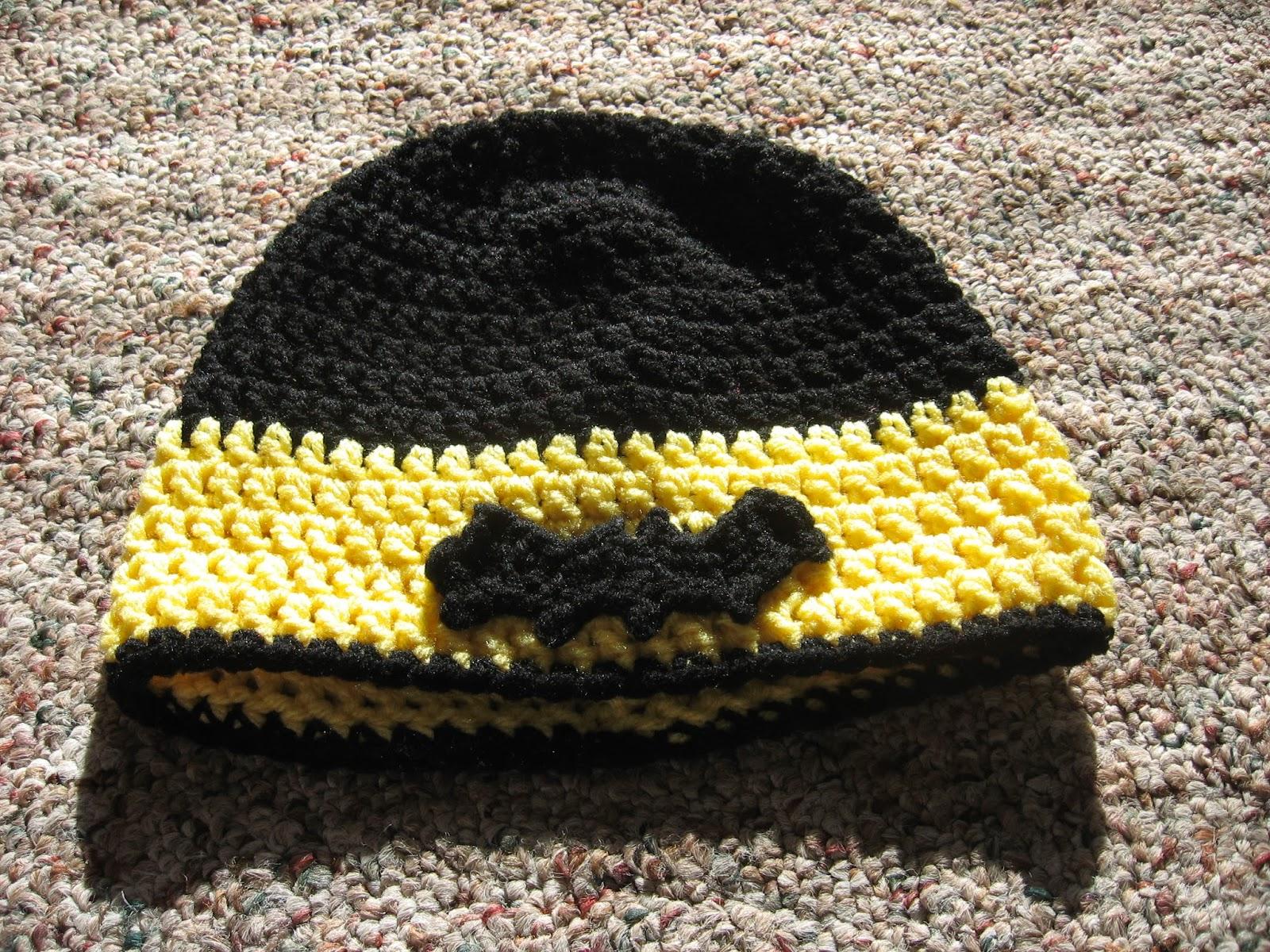 Crafting Adventures Batman Hat Free Pattern