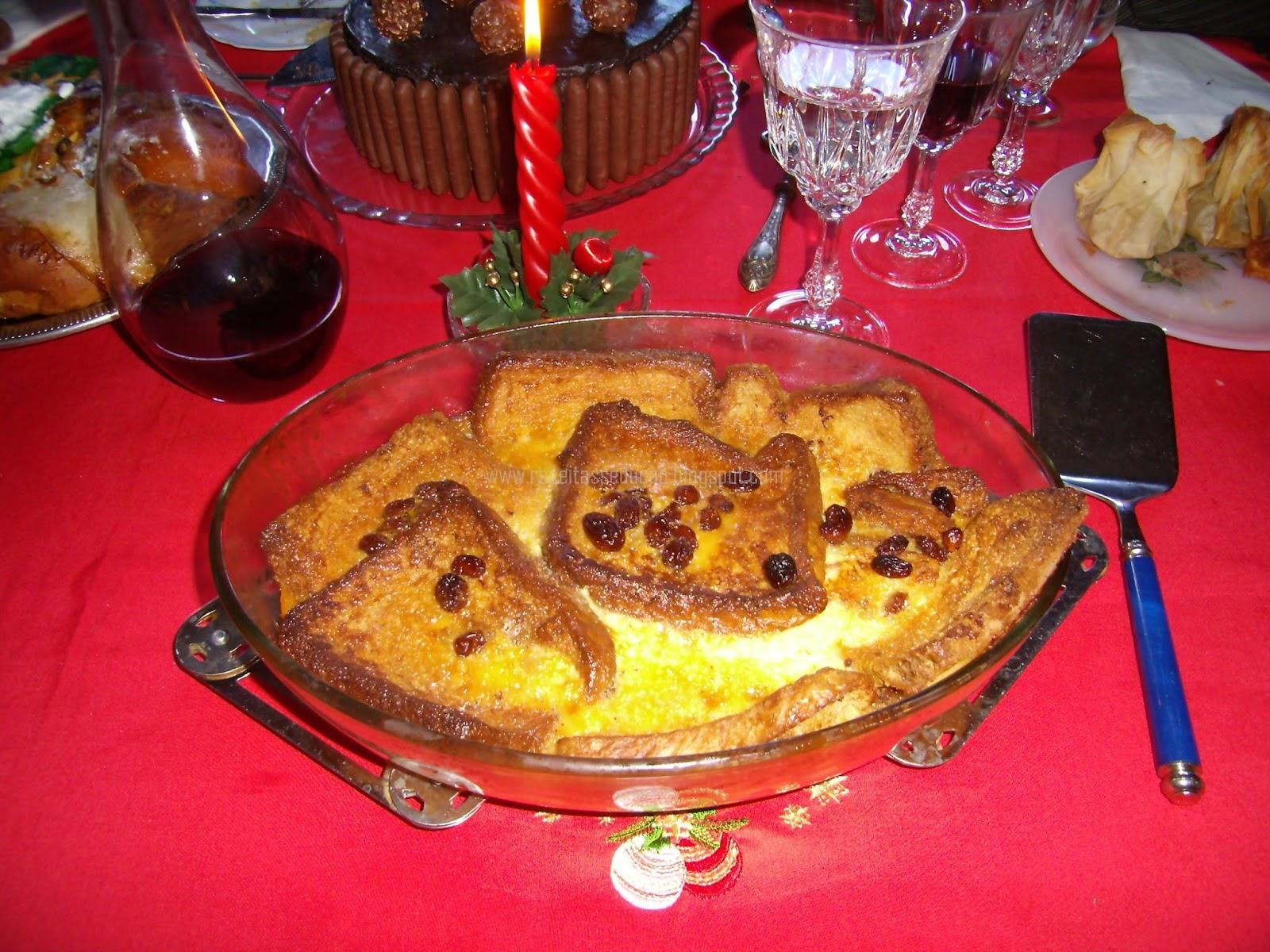 Sobremesas para a Ceia de Natal