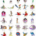 Aladdin, Snow White, Pocahontas, Beauty and the Beast -  94 embroidery designs