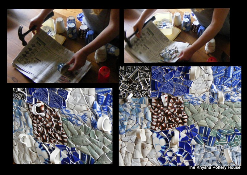 How To Mosaic And Make Beautiful Objects For Home And Garden - Broken ceramic tiles for sale