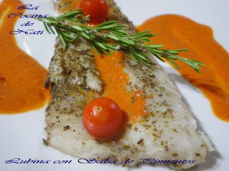 Pescado y marisco de la a a la z lubina con salsa de for Salsa para lubina a la sal