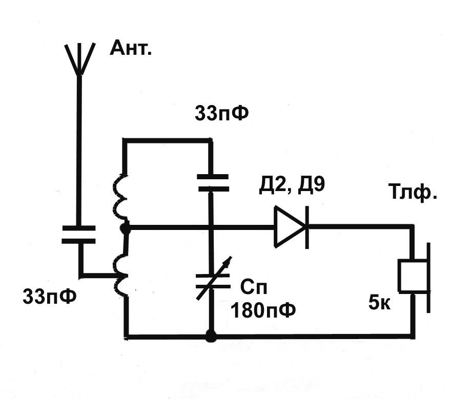 Радиоприёмники фм схемы