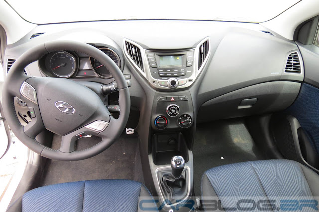 Hyundai HB20X Style - interior