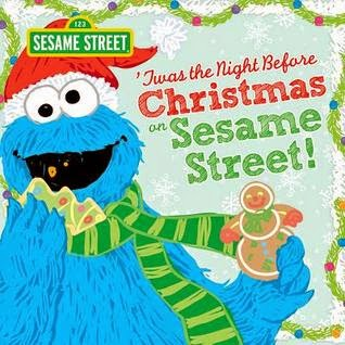 'Twas the Night Before Christmas on Sesame Street cover