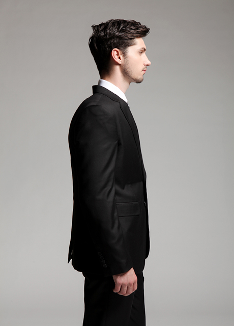 tailored suit,black suit