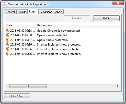 Malwarebytes Anti-Exploit Anti-malware