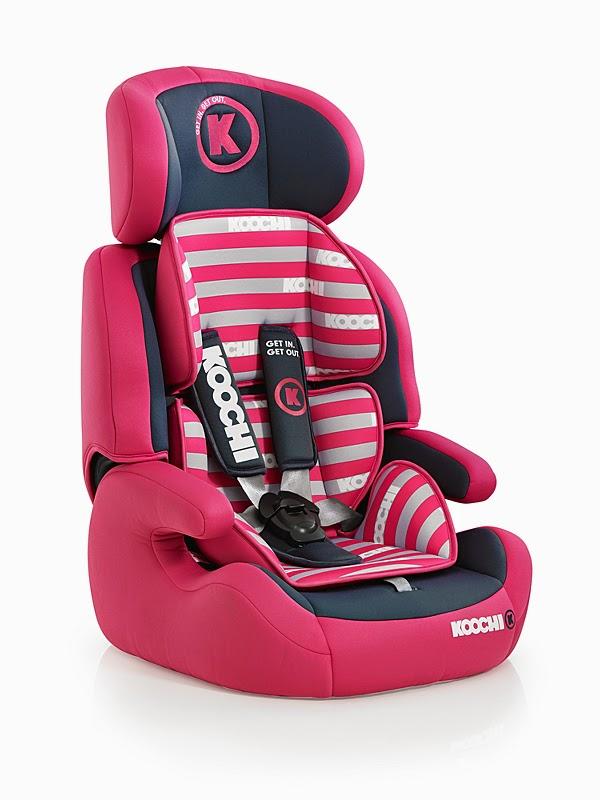 Koochi Car Seat Instructions