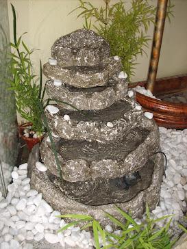 33.....ref : 0133  cascata tipo pedra sabão