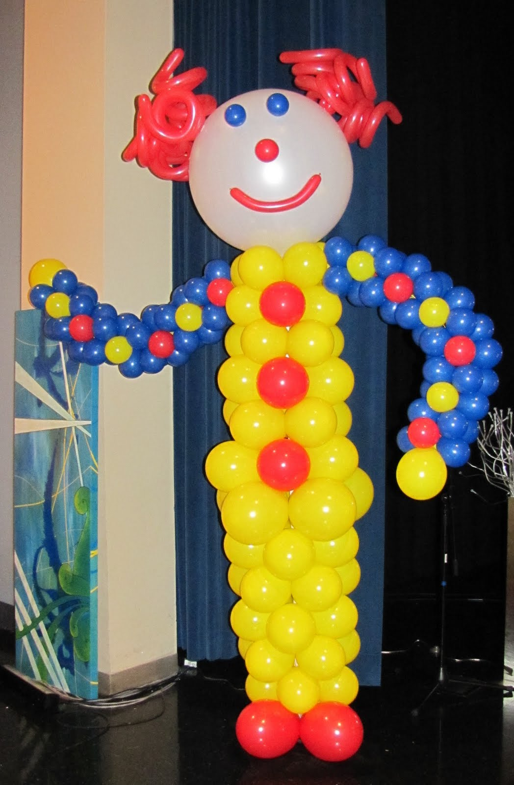 This 8 Ft Tall Clown Helped Bring The Theme Of 3 Ring Circus Onto Stage For HPNY Highland Park Nazarene Youth Middle School Kick Off Event