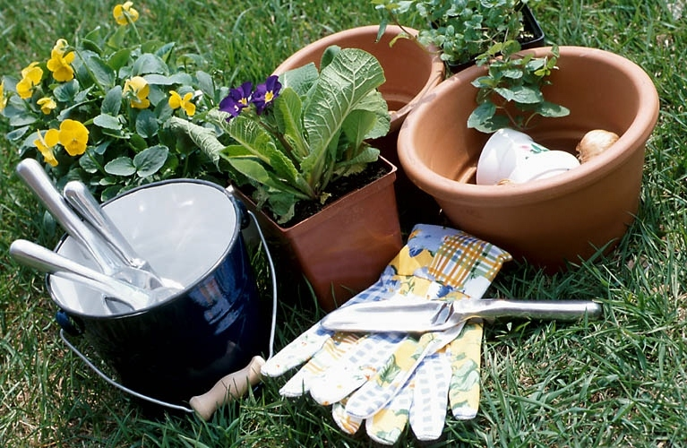 Bucket outlet uses for buckets in the garden for Gardening tools and their uses with pictures