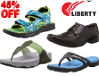 Amazon: Buy Men, Women & Kids Liberty Footwear at Extra Flat 45% OFF