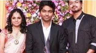 Vijay, AR Rahman @ Gv Prakash and Saindhavi Marriage Reception | Digital Album | Shankar, MK Stalin