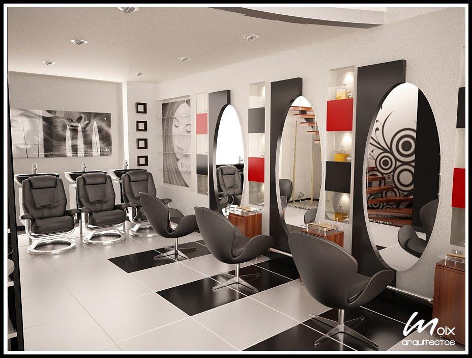 M o i x arquitectos salon de belleza 39 39 olivos 39 39 for Spa y salon de belleza