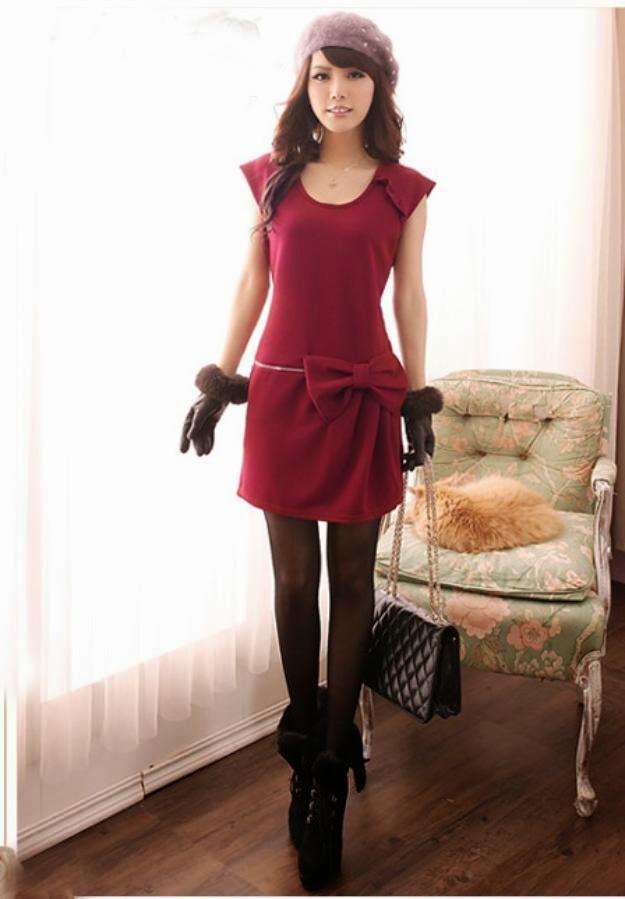 Mi mundo fucsia vestidos casuales moda asi tica for Pantalones asiaticos