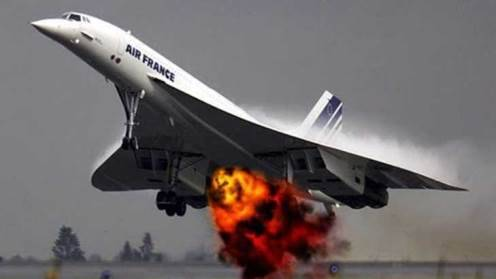 gambar jet supersonic concorde kemalangan 2000